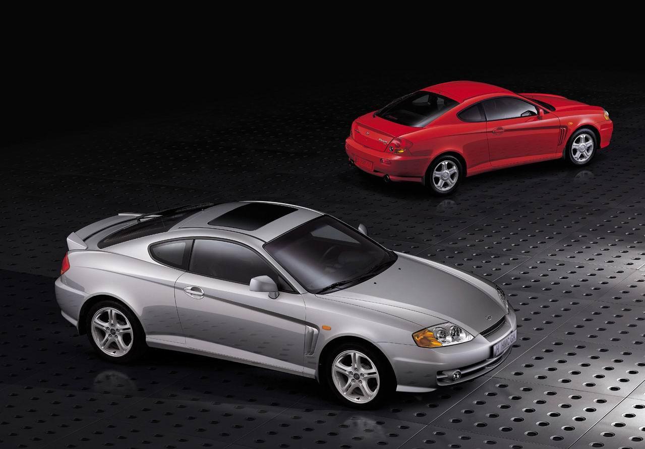 2001 Hyundai Coupe Tiburon Ii Gk